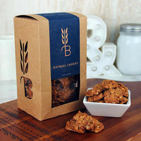 Bread Lounge Oatmeal Crisp Cookies