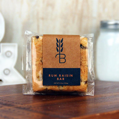 Bread Lounge Rum Raisin Bar
