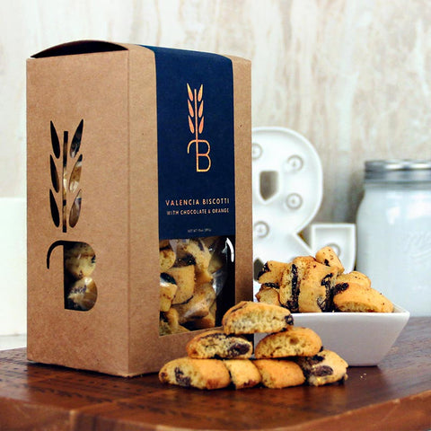 Bread Lounge Biscotti Chocolate & Orange Cookies