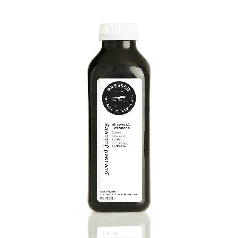 Pressed Juicery Charcoal Lemonade