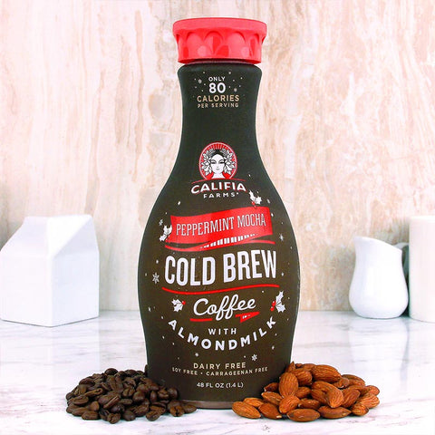 Califia Farms Cold Brew Peppermint Mocha 48 oz