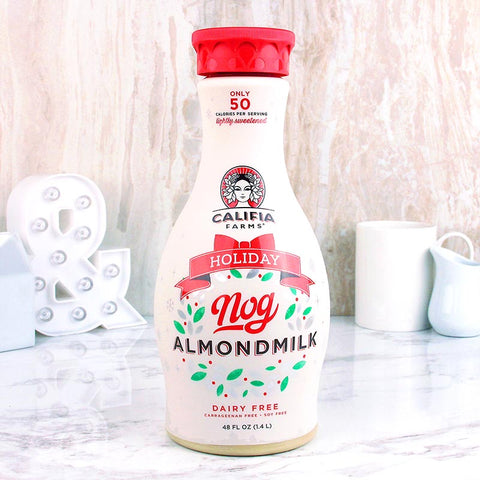 Califia Farms Almond Milk Holiday Nog 48oz