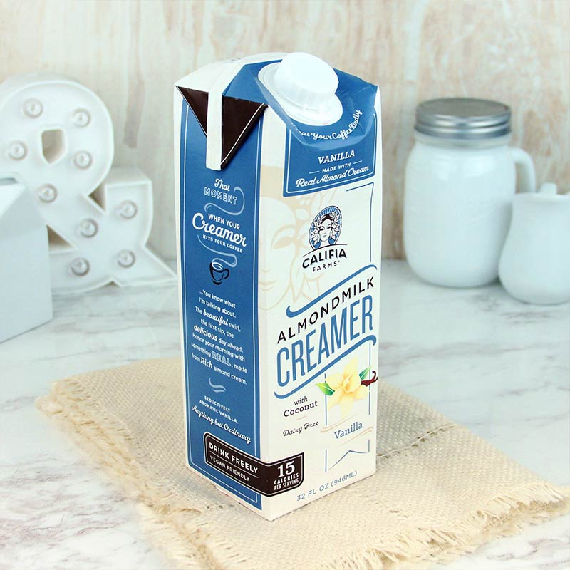 Califia Farms Creamer Vanilla Almond Milk 32 oz