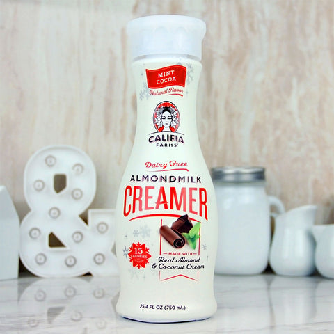 Califia Farms Creamer Mint Cocoa Almond Milk 25oz