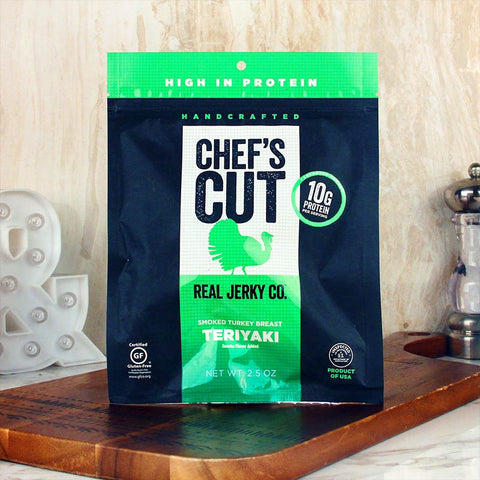 Chef's Cut Real Turkey Jerky Teriyaki