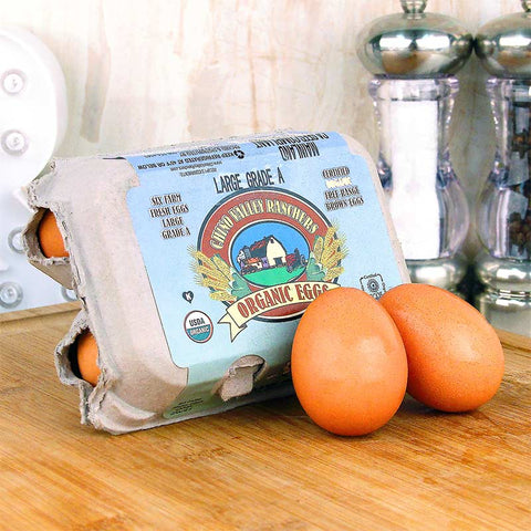 Chino Valley Organic Brown Eggs Half Dozen