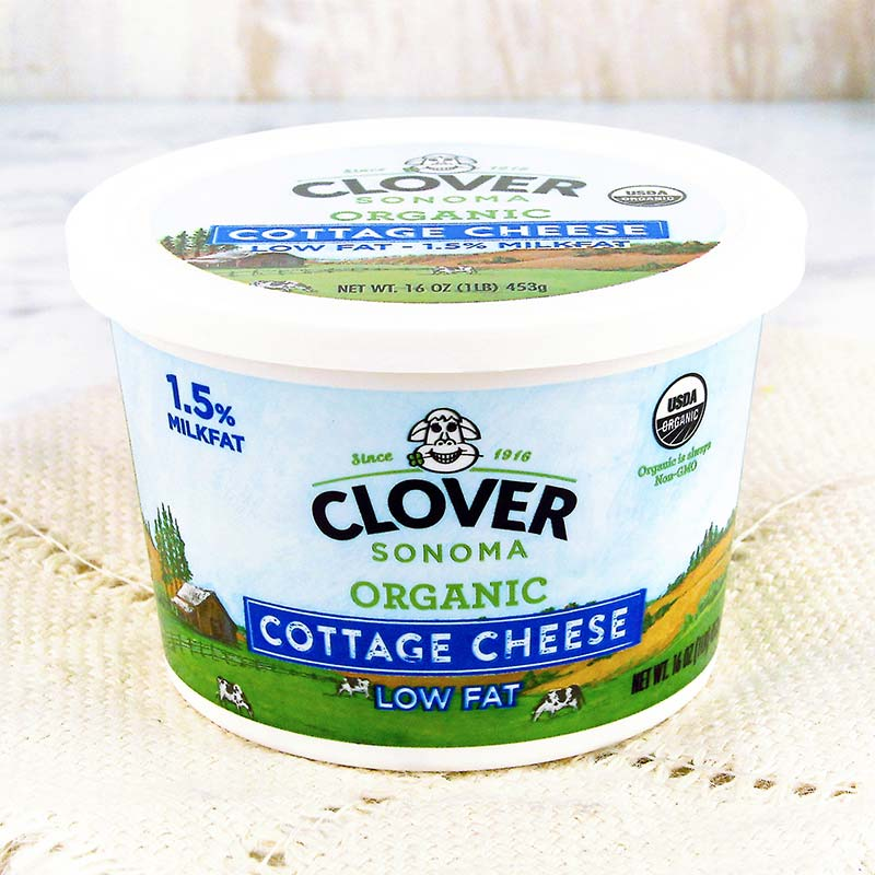 Charming Clover Organic Low Fat Cottage Cheese