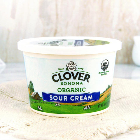 Clover Organic Farms Sour Cream