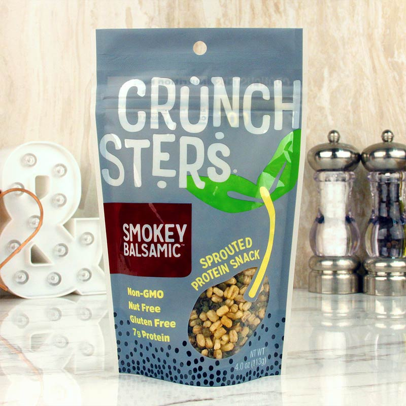 Crunchsters Sprouted Protein Snack Smoky Balsamic