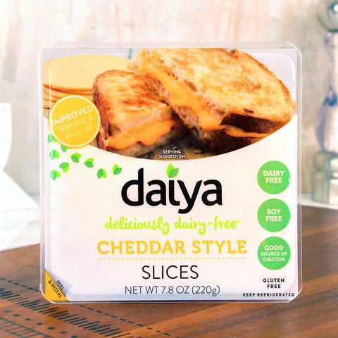 Daiya Cheese Style Slices Cheddar