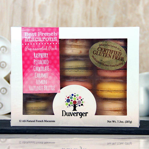 Duverger Macarons Degustation 12 pack