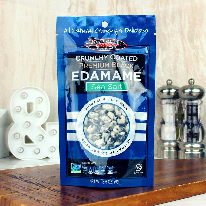 SeaPoint Farms Crunchy Coated Edamame 8oz