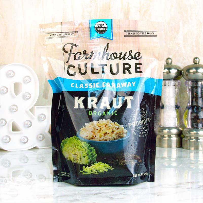 Farmhouse Culture Sauerkraut Classic Caraway