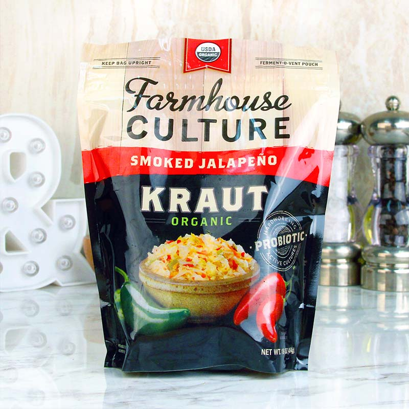 Farmhouse Culture Sauerkraut Smoked Jalapeno