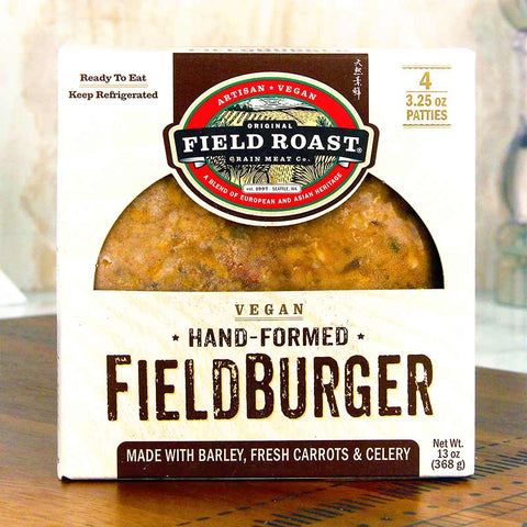 Field Roast Vegan Hand Formed Burgers