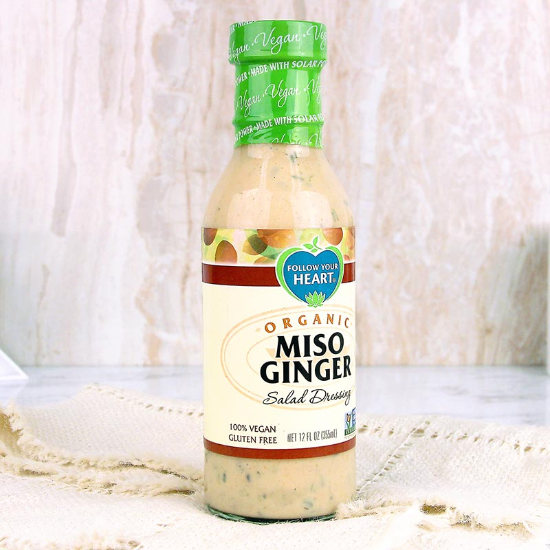 Follow Your Heart Miso Ginger Dressing
