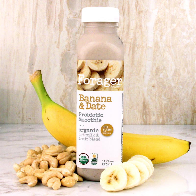 Forager Banana & Date Probiotic Smoothie 12oz