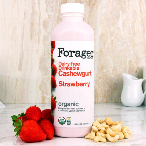 Forager Strawberry Drinkable Cashewgurt 28oz
