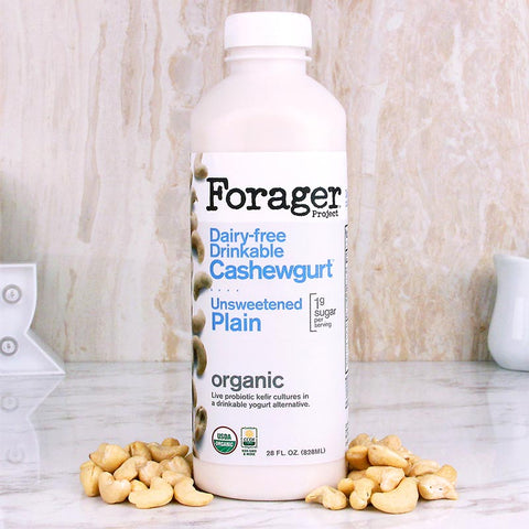 Forager Unsweetened Plain Drinkable Cashewgurt 28oz