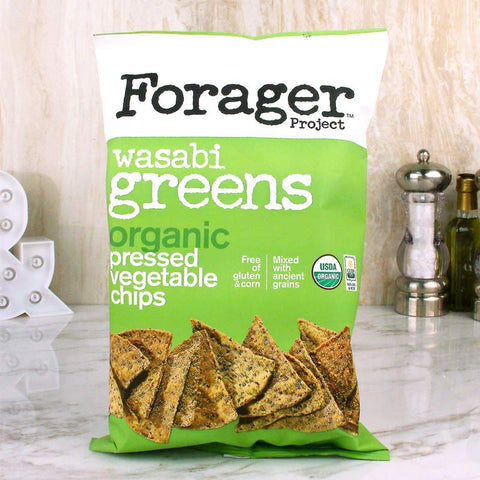 Forager Organic Vegetable Chips Wasabi