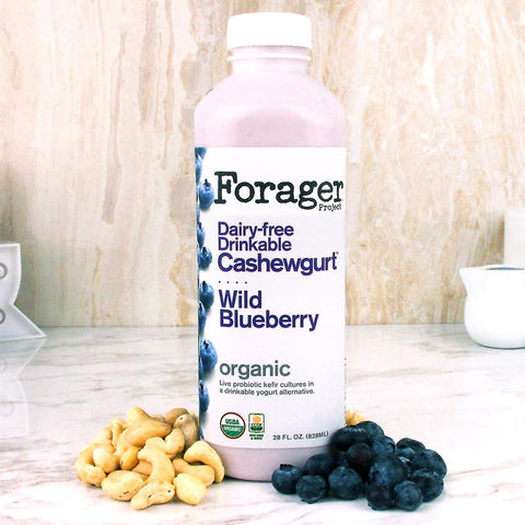 Forager Wild Blueberry Drinkable Cashewgurt 28oz