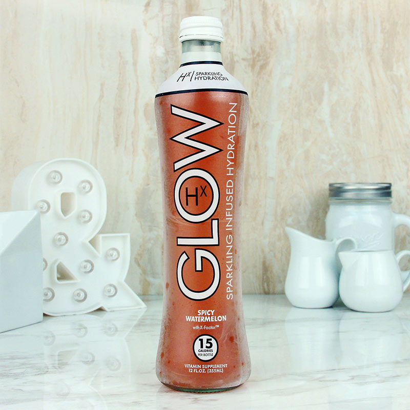 Glow Sparkling Beverage Spicy Watermelon 12 oz