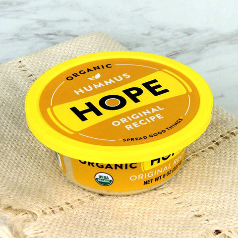 Hope Foods Organic Hummus Original