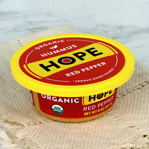 Hope Foods Organic Hummus Red Pepper