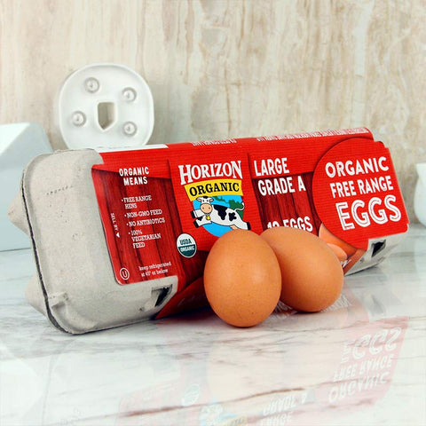 Horizon Organic Cage Free Large Brown Eggs