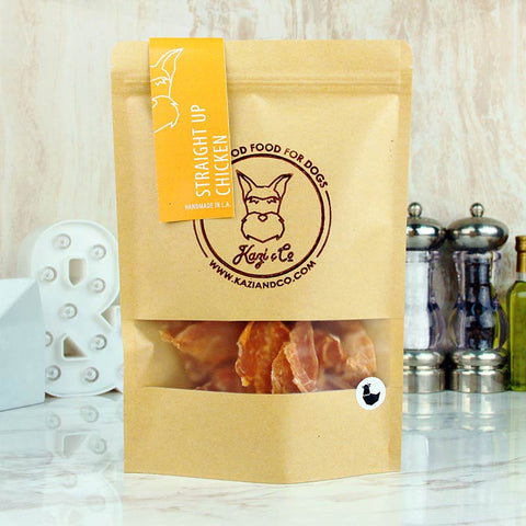 Kazi & Co Pet Treats Straight Up Chicken