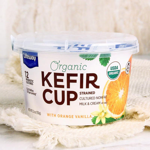 Lifeway Organic Kefir Cup Orange Vanilla