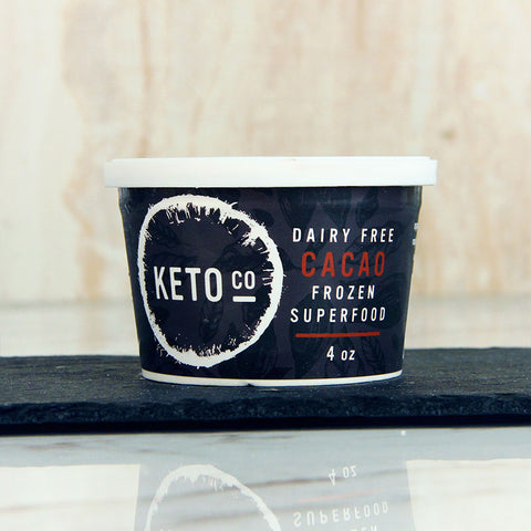 "Keto Co Frozen Superfood Cacao ""Ice Cream"""