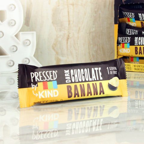 Kind Pressed Dark Chocolate Banana Bar
