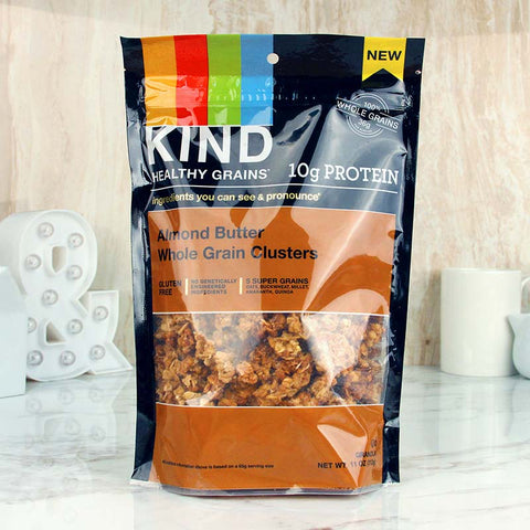 Kind Healthy Grains Clusters Almond Butter