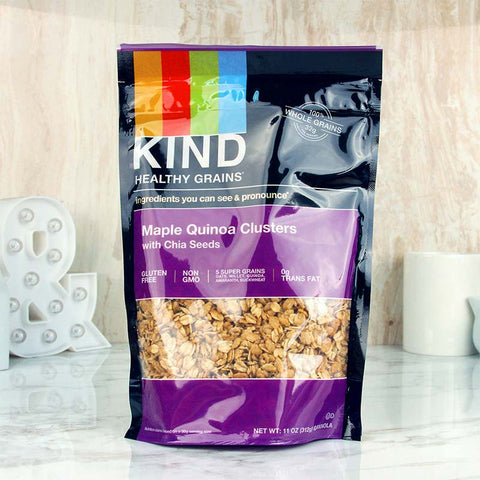 Kind Healthy Grains Clusters Maple Quinoa