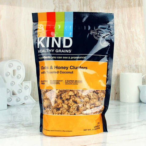 Kind Healthy Grains Clusters Honey & Toasted Coconut