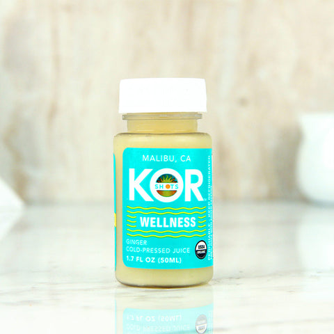 Kor Shots Pressed Juice Wellness Ginger