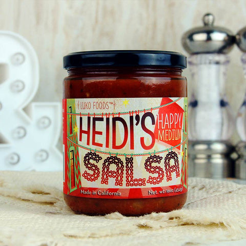 Heidi's Salsa Happy Medium