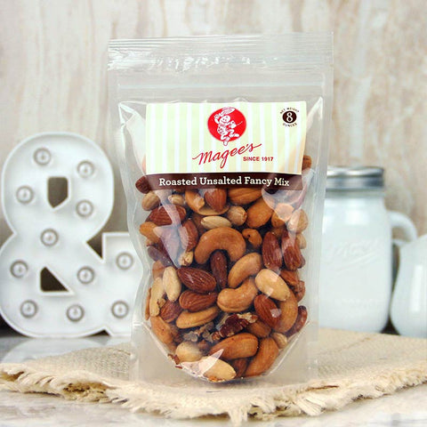 Magee's Nuts Fancy Mix Unsalted 8 oz
