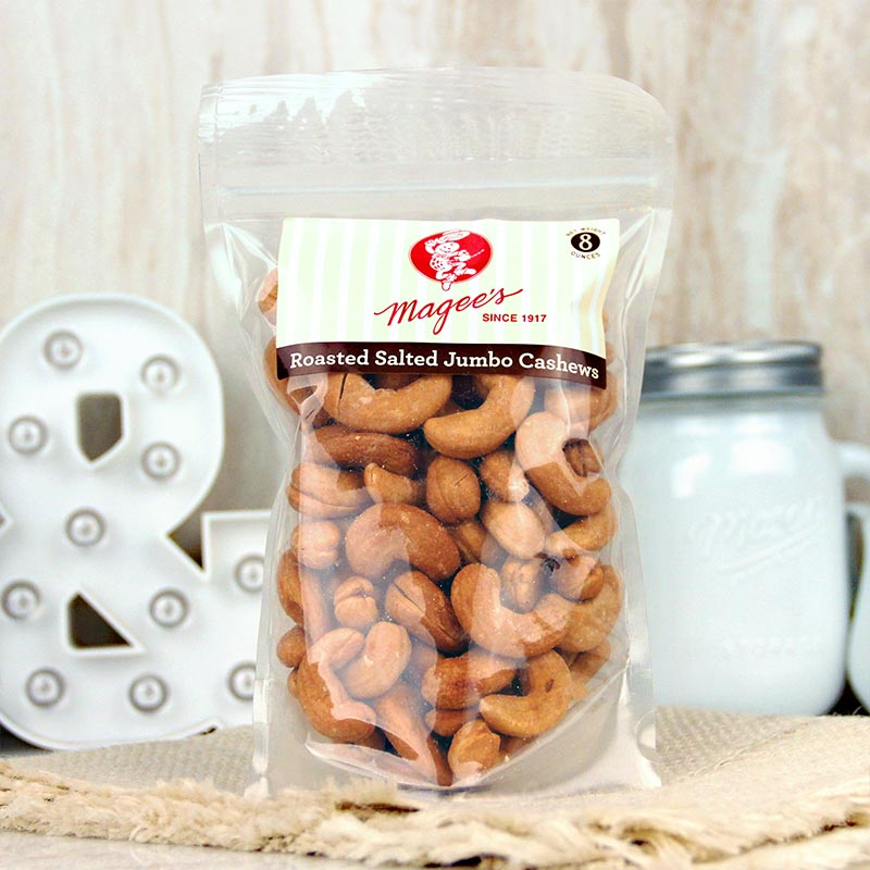 Magee's Nuts Cashews Salted 8 oz