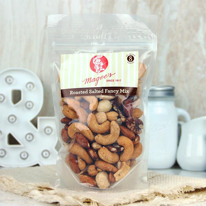 Magee's Nuts Fancy Mix Salted 8 oz