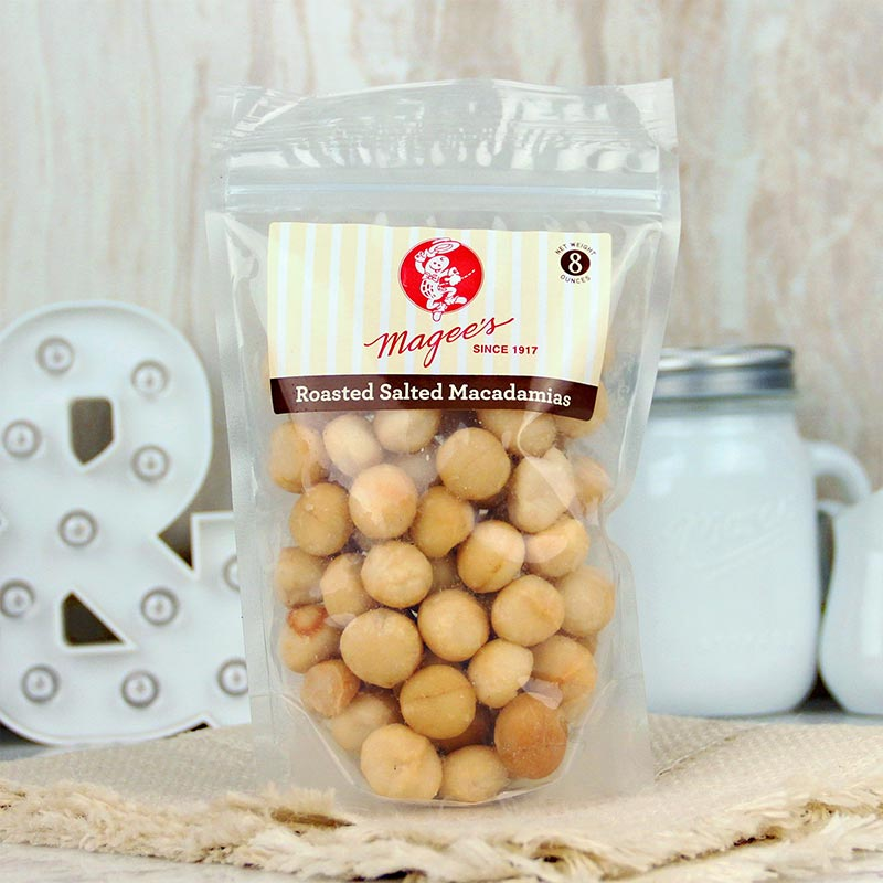 Magee's Nuts Macadamias Salted 8 oz