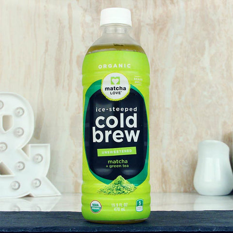Matcha Love Cold Brew Unsweetened 16oz