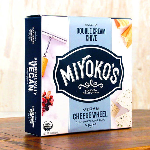 Miyoko's Creamery Nutcheese Double Cream Chive