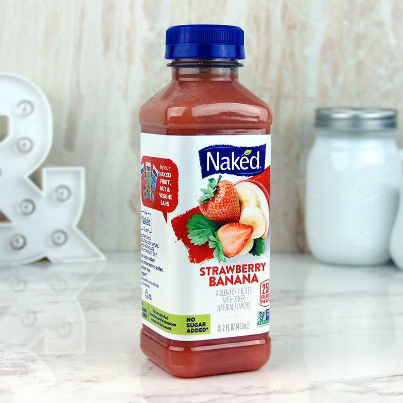 Naked Juice Strawberry Banana 15 oz