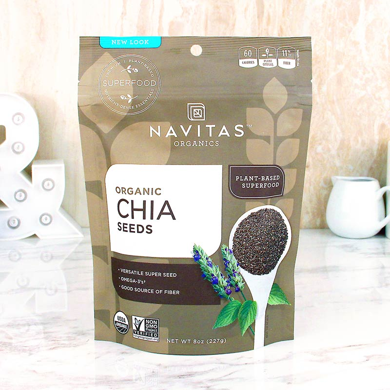 Navitas Organics Superfoods Chia Seeds 8 oz