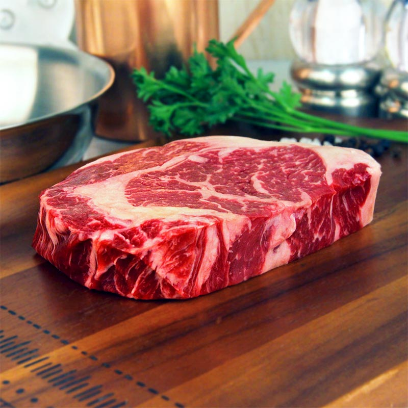 USDA Choice Ribeye Steak 12oz Niman Ranch Grass Fed