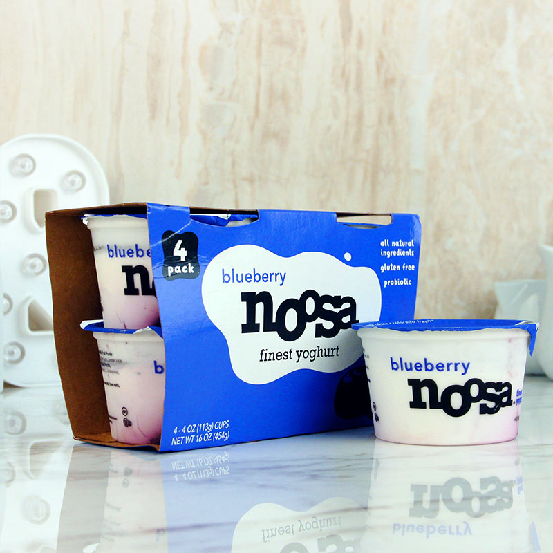 Noosa Finest Yoghurt Blueberry 4pk