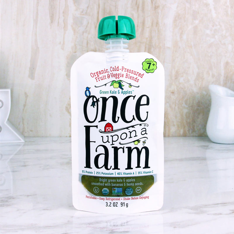 Once Upon A Farm Baby Food Green Kale & Apples
