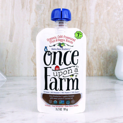 Once Upon A Farm Baby Food Mama Bear Blueberry